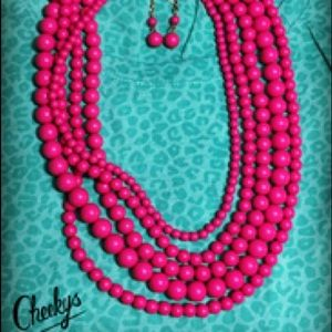These are Cheeky's Beads Beautiful colors